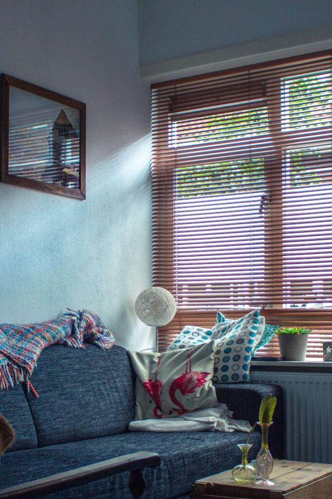 Página de cortinas y persianas